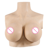 Crossdressing Huge Tits Artificial Boobs Trandsgender Silicone Bodysuit Realistic Silicone Breast Forms For Drag Queen
