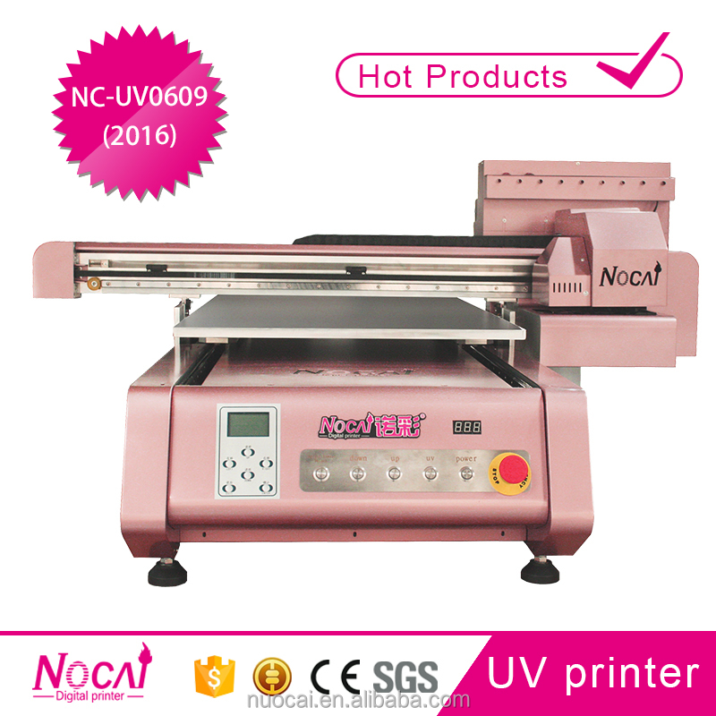 Small business ideas Nuocai 60*90cm Small DIY uv led cell phone case printer with Promotion price