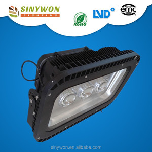 Cool White Epistar Chip Black Casing Outdoor Led Floodlight 100w 150w 200w