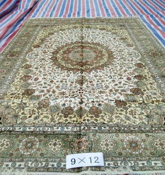 muslim turkish belgium indian chinese handmade silk rug