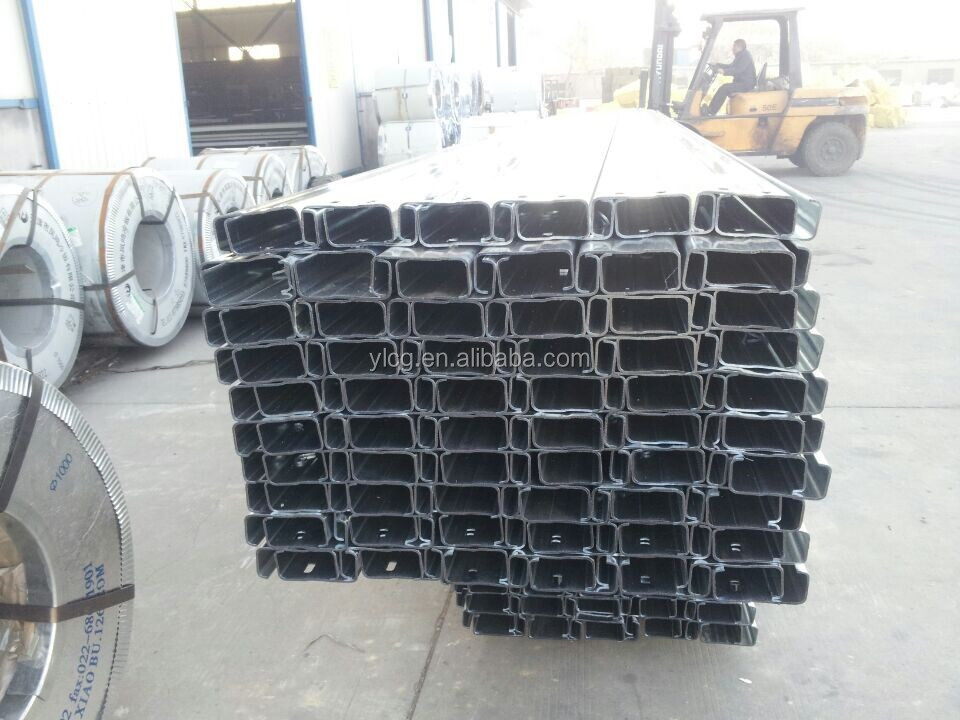 Cold Rolled Galvanized C Channel Steel Dimensions Buy