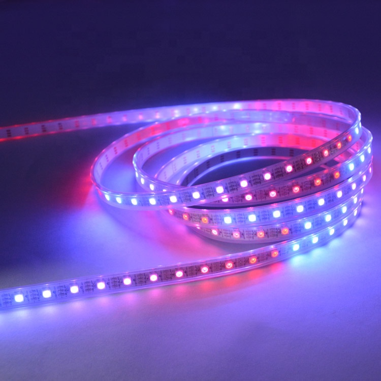programmable smd 5050 5v led pixel ws 2811 2812b rgb addressable led strip light kit chasing magic dream color lights
