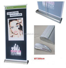Trade Show Booth Advertsing Wide Base Retractable Roll Up Display Stand