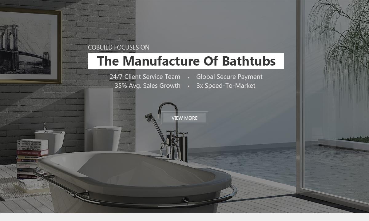 Foshan Cobuild Sanitary Co., Ltd. - Arylic Bathtub, Steam Room