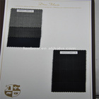 Super 180s100% wool sharkskin fabric 265g/m, 3colors in stock for made to measure service