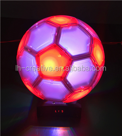 Newest Football Shape RGBW moving head LED stage light RGB disco night club light led dance floor stage light