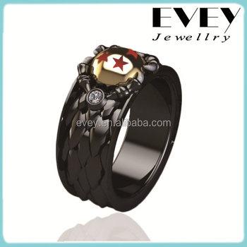 Evey Latest Dragon Ball Black Ring Buy Black RingDragon Ball Ring