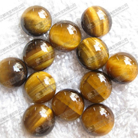 Gemstone cabochons,tiger eye stone round cabs