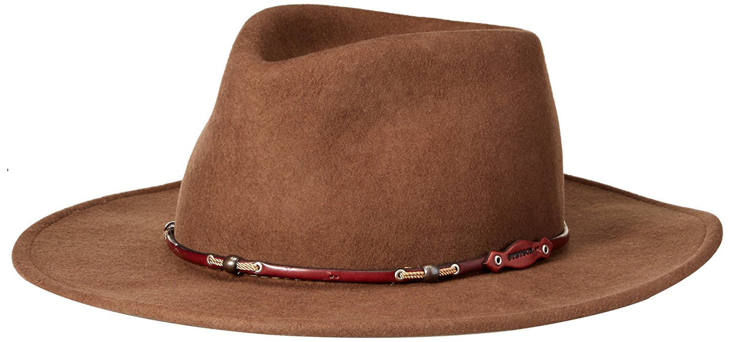293fcc8833e Get Quotations · Stetson Men's Wildwood Acorn Crushable Wool Felt Hat -  Swwdwd-813208 Cordova