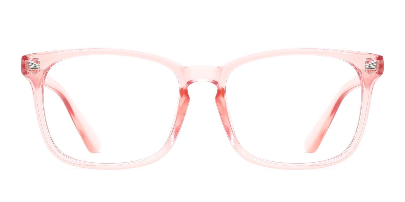 72ca18d7a9 TIJN Unisex Wayfarer Non-prescription Eyeglasses Glasses Clear Lens Eyewear  Frame