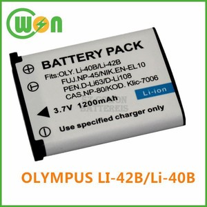 Li-42B Li42B Vedio Camera Battery for Olympus D-630 FE-150 FE-20 FE-220 FE-230 FE-240 FE-250 FE-280 FE-290