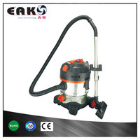 stainless steel industrial wet dry vacuum cleaner with power tool socket blowing function