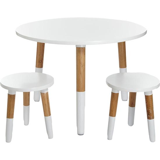 Kids Room Simple Round Table Kids Study Table