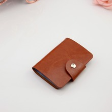 New hottest selling PU leather card bag/credit card holder