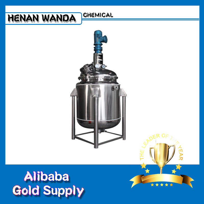 Professional Manufacturer 1000L stainless steel chemical reactor for sale