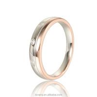 Korea Imitation Jewellery Karat Gold Ring With Diamond Wedding Ring For Men RIPY038M-10