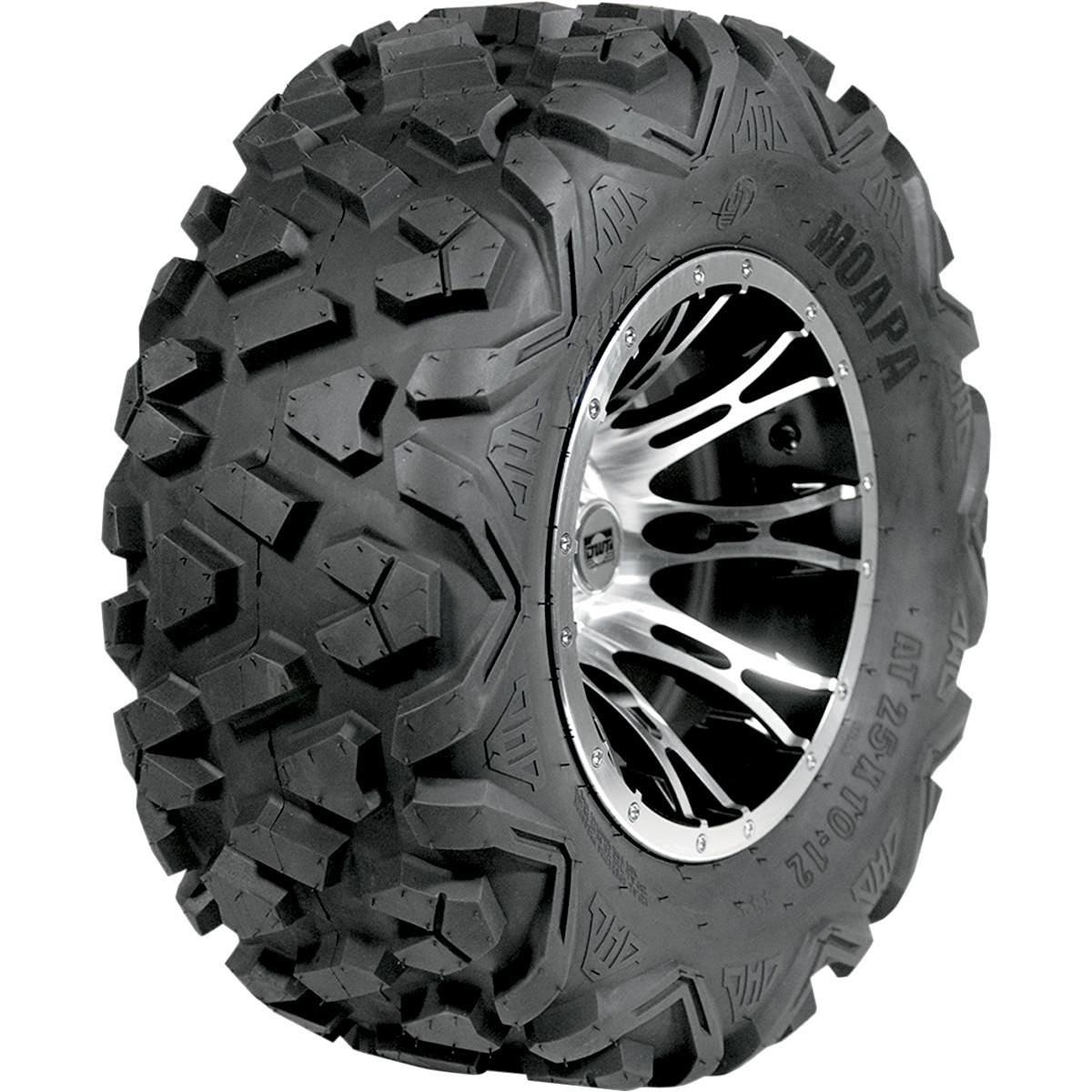Douglas Wheel Moapa Run-Flat Utility Tire - 26x9x14 , Position: Front/Rear, Rim Size: 14, Tire Application: All-Terrain, Tire Size: 26x9x14, Tire Type: ATV/UTV, Tire Construction: Bias, Tire Ply: 12 UT-261-12