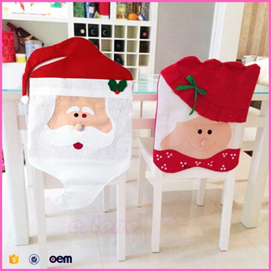 Explosion models Hot Christmas chair coverings Christmas gift sets Christmas table decoration