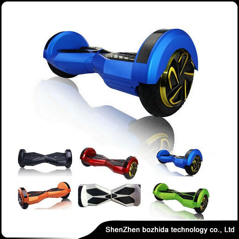 2016 Smart Lamborghini Hoverboard with Bluetooth scooter 8 Inch 2 Wheel self balancing scooter