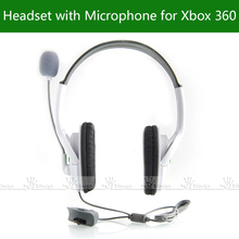 Headset Headphone w/mic for Microsoft Xbox 360 X360 Slim Controller