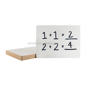 Whiteboards for Sale 3mm MDF Board Teaching Material 9x12 Inches Whiteboard Price