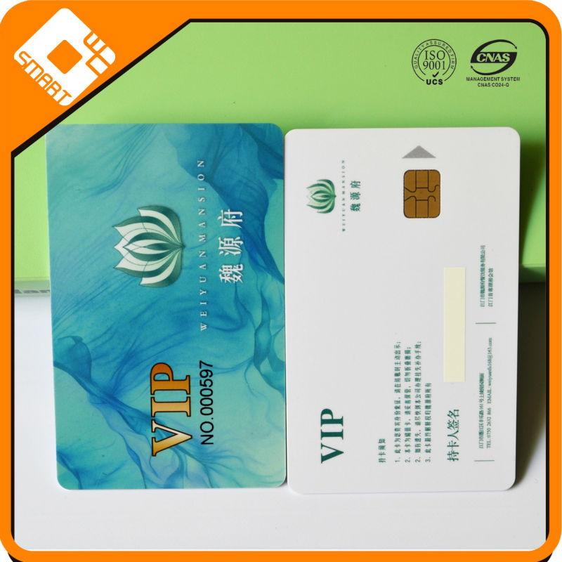 Factory Ic chip M1 loyalty hotel key card system