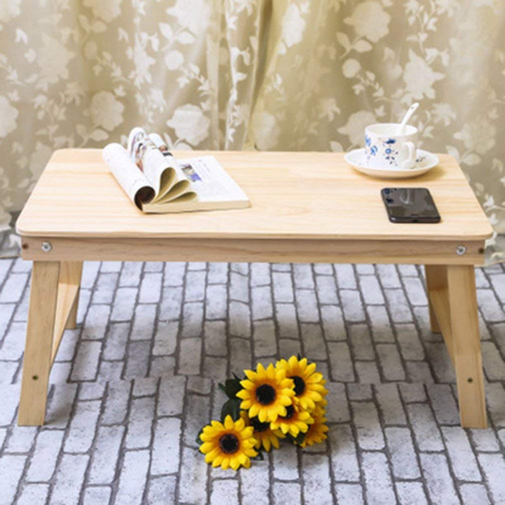Folding Wood Laptop Table Bed Laptop Stand Desk Bed Sofa Learning Table Portable Computer Notebook Table Furniture