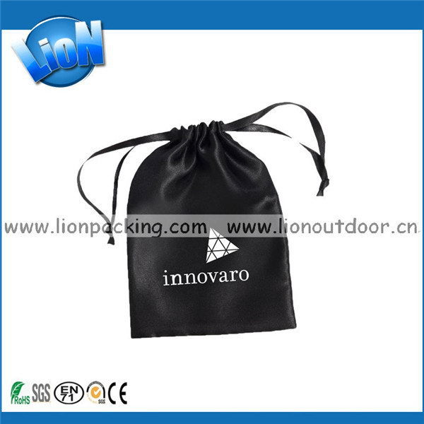 Excellent quality unique hot sell polyester satin pouch