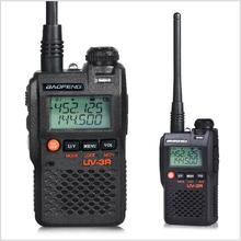 Baofeng Mini walkie talkie UV-3R Langstrecken-dualband-transceiver <span class=keywords><strong>UHF</strong></span> <span class=keywords><strong>VHF</strong></span> Handlichen Zweiwegradio mit Lcd display Walkie Talkie
