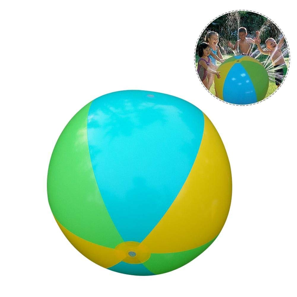 Pool Rafts & Inflatable Ride-ons Pvc Inflatable Sprinkler Water Ball Toy For Hot Summer Swimming Party Beach Pool