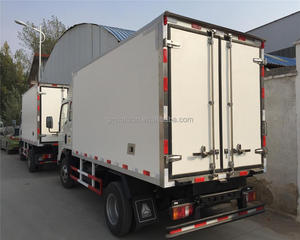 Frozen Truck 5tons Refrigerator Truck transport food van vehicle