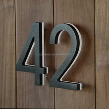 alibaba sign up illuminated backlit house numbers, led brushed stainless steel number sign, lead