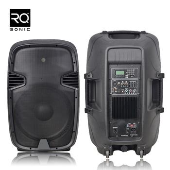 Plastic Blutooth Karaoke Party Speaker Cabinet Pml15dhmxq-bt - Buy ...