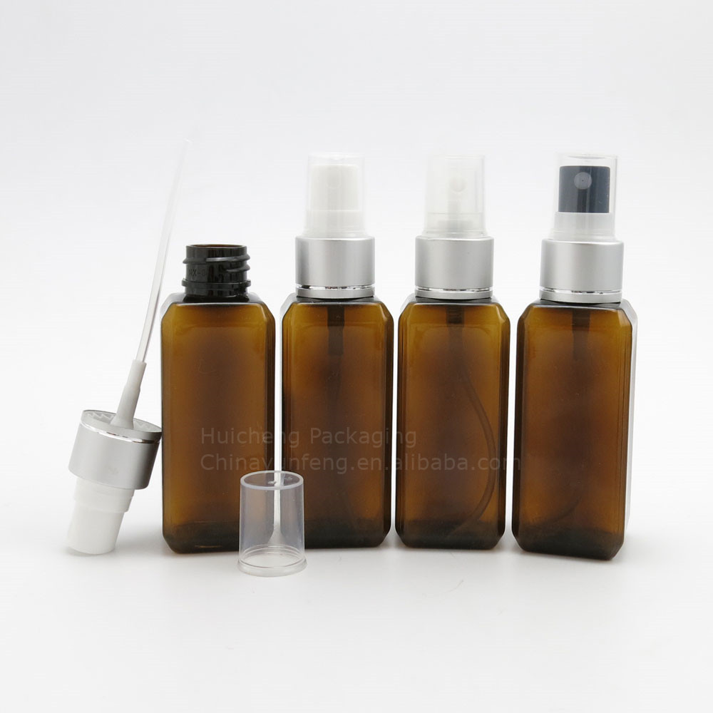 New Design small volume perfume spray refill bottles with aluminum sprayer