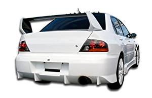 2002-2007 Mitsubishi Lancer / 2003-2006 Mitsubishi Lancer Evolution 8 9 Duraflex Evo 8 Wing Trunk Lid Spoiler - 1 Piece