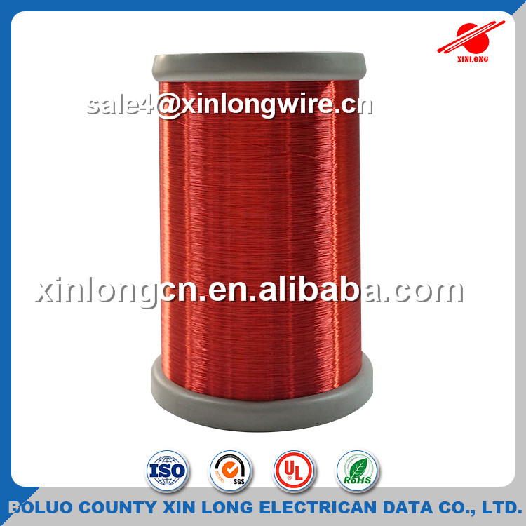 Factory Prices Red Enameled Copper Wire Coil Winding AWG 43/42 Copper Wire