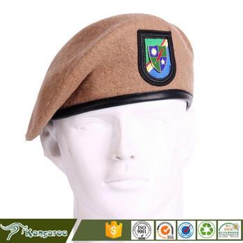 Atacado Personalizado Militar Boina Marrom - Buy Personalizado Boina ... 42fb85a9180