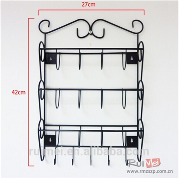 Factory Price Wall Mount Mail And Key Rack