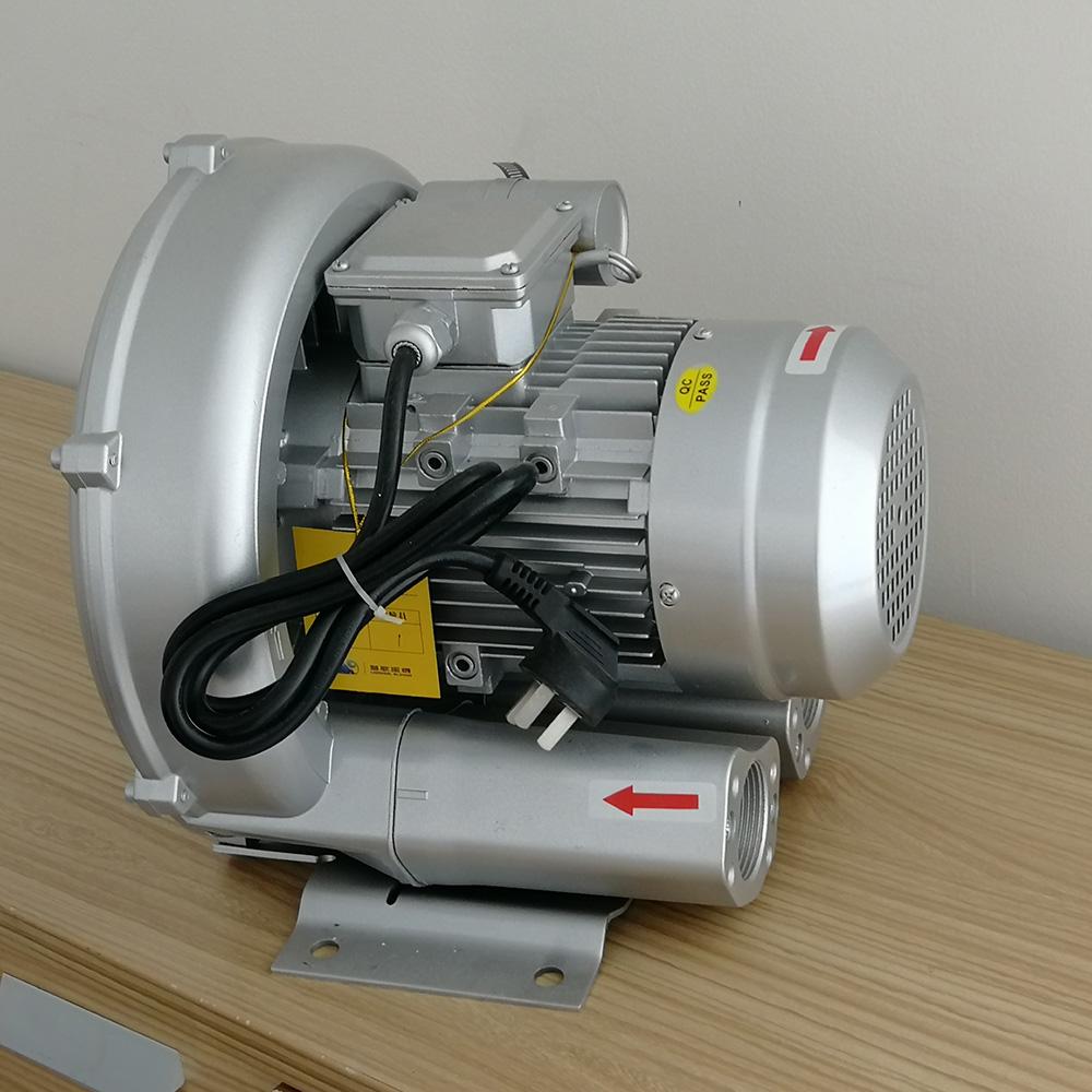 Küçük Elektrikli Vortex Hava Pompası Rejeneratif Blower