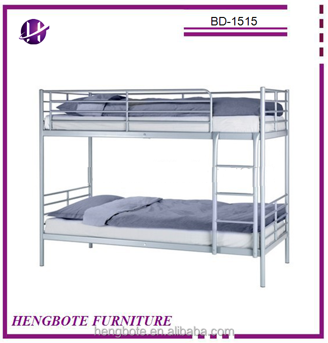 Hot Sale Metal Bunk <strong>Bed</strong> New Design School <strong>Bed</strong> BD-1515