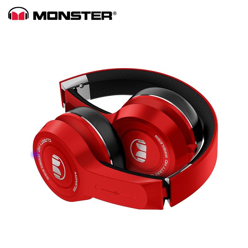 Monster Clarity Hd 100 Stereo Plug Foldable Around-earphone Bass Wireless  Bluetooth Headset Headband Headphones - Buy Headphones,Wireless Headphones  Bluetooth Headset,Bass Headphone Product on Alibaba.com