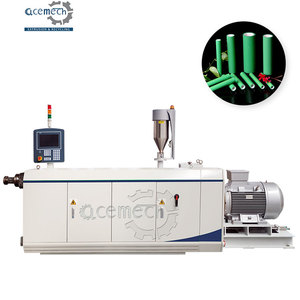 Single Cavity Plastic PPR PERT pipe Double Layers 3 Layers Co-Extrusion Line Manufacturing Machine