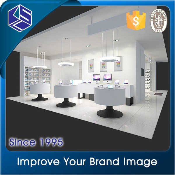 New idea fashion decoration retail computer shop interior design ...