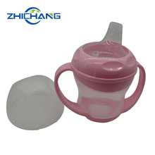 2017 New Silicone Sippy Lids Baby Trainer Cup
