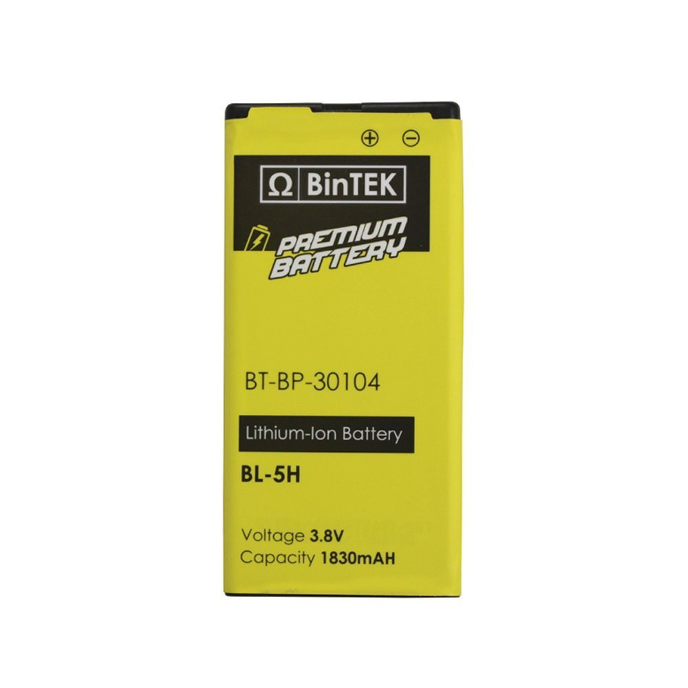 BinTEK Brand Nokia Lumia 635 Battery Nokia Lumia 630 Battery 1830mAH Li-Ion Premium Nokia BL-5H Battery / Compatible with all Nokia Lumia 635 630 636 638 models