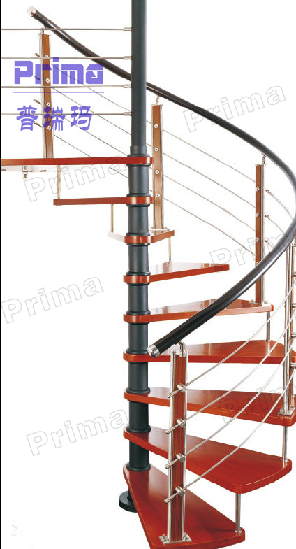 Antique wooden spiral staircase wrought iron metal - Spiral staircase wrought iron ...