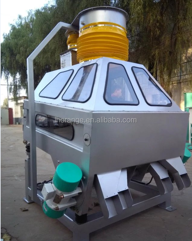 High efficiency Gravity Classify Destoner Machine for rice / wheat / corn / grain