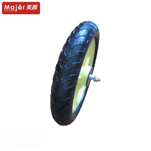 12 inches stroller eva foam rubber wheel with axle