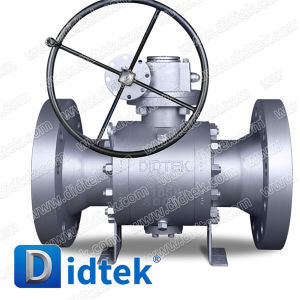 Didtek Class 600 Reduced Bore Trunnion Ball Valve