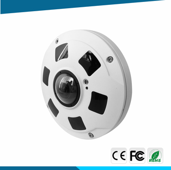 EXW price 360 panoramic Vehicle-mounted fisheye IP camera for home